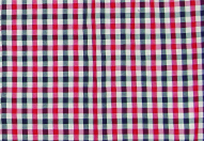 Dress Blues - Chinese Red - White Plaid