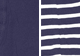 Navy-Navy Stripe